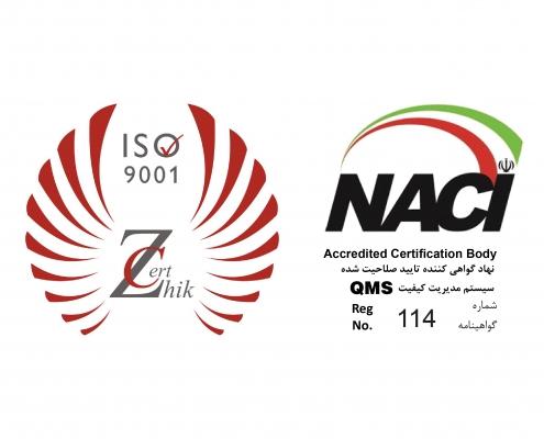 Zhic -Iso 9001 & NACI ۲